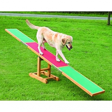Trixie 3213 Dog Activity Agility Wippe, 300 × 54 × 34 cm -