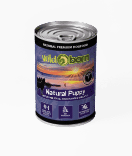 Wildborn Natural Puppy getreidefreies Nassfutter 6x400g